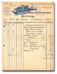 Rechnung | Schmid Schwarz AG